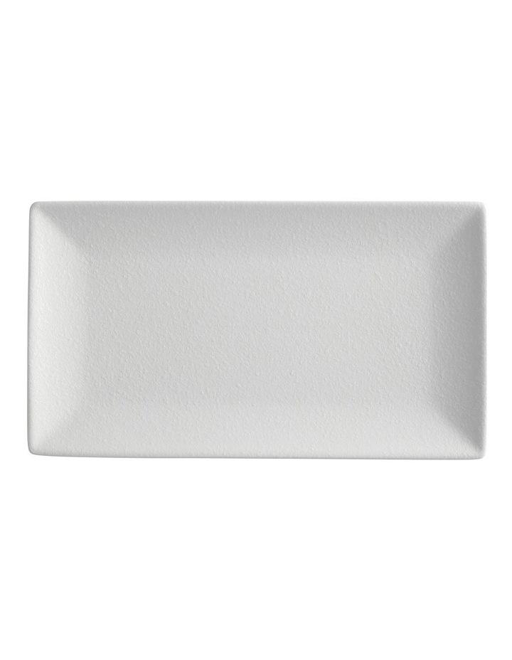 Caviar Rectangle Platter 34.5x19.5cm White image 1