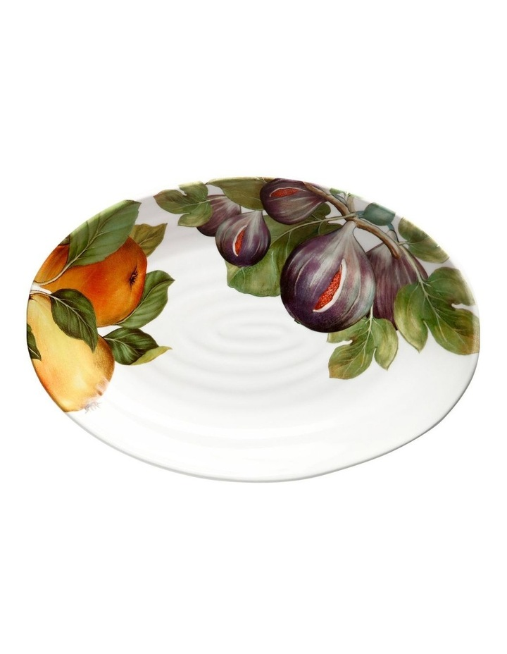 Frutti Oval Platter 38x26cm Fig Pear image 1