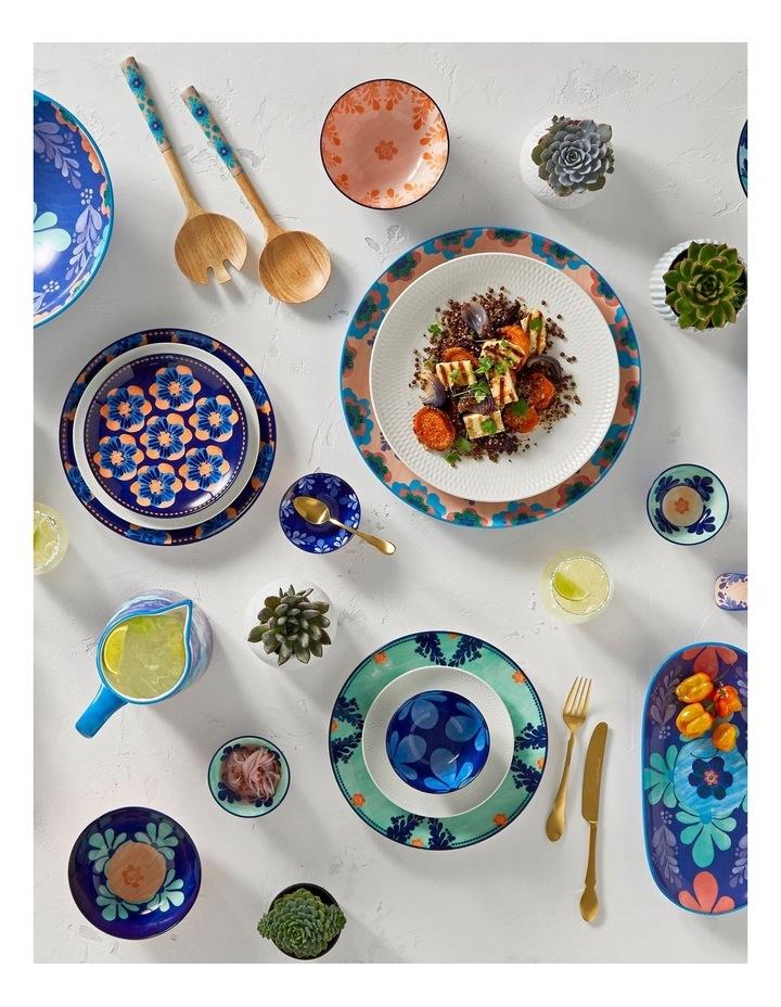 Majolica Oblong Platter 33x17cm Blue Gift Boxed image 2