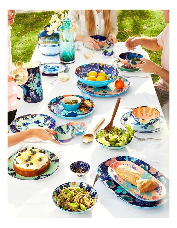 Majolica Oblong Platter 40x28cm Blue Gift Boxed image 2