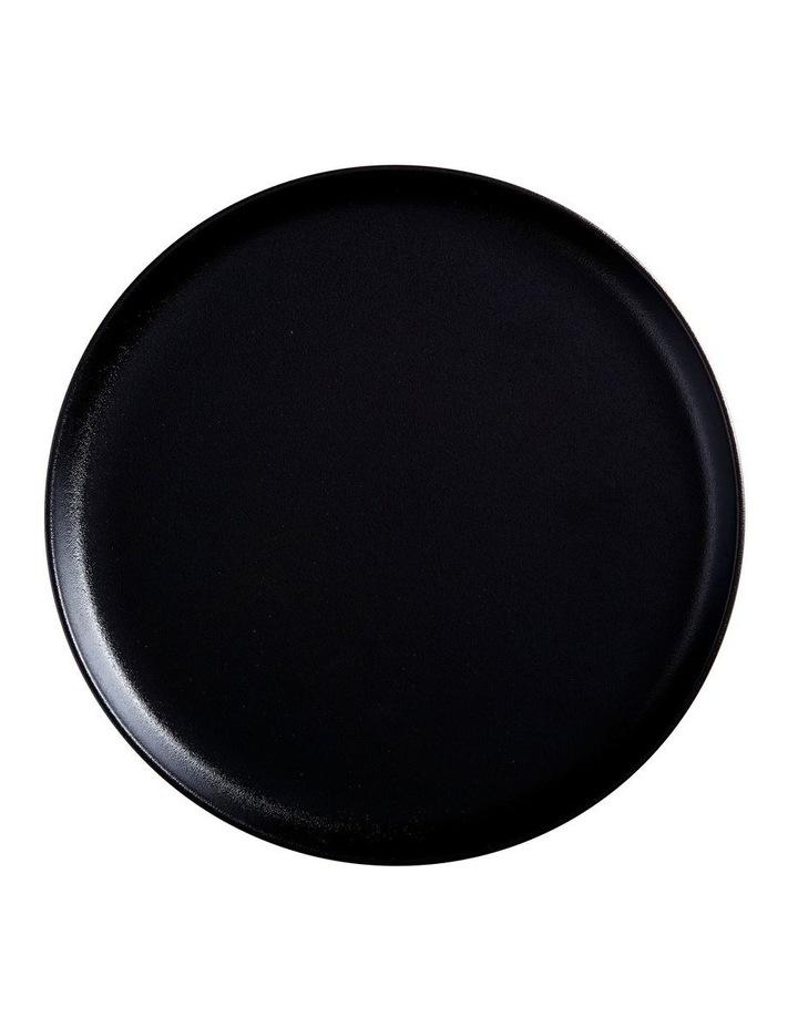 Caviar High Rim Platter 28cm Black image 1