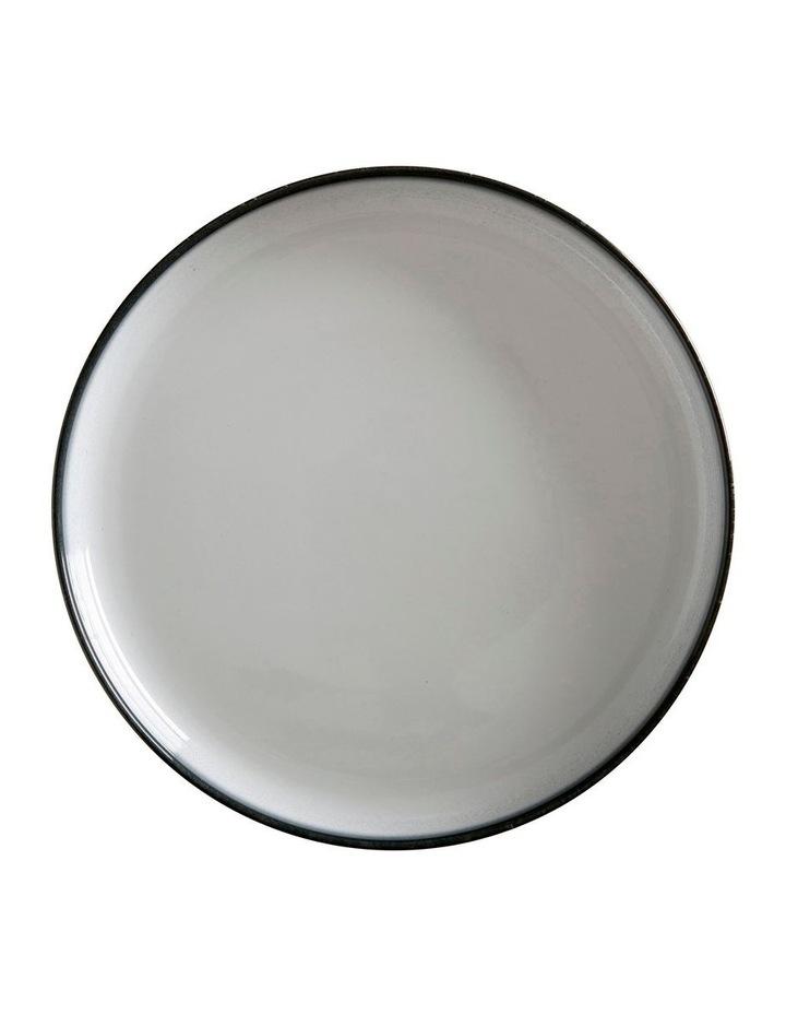 Caviar High Rim Platter 28cm Granite image 1