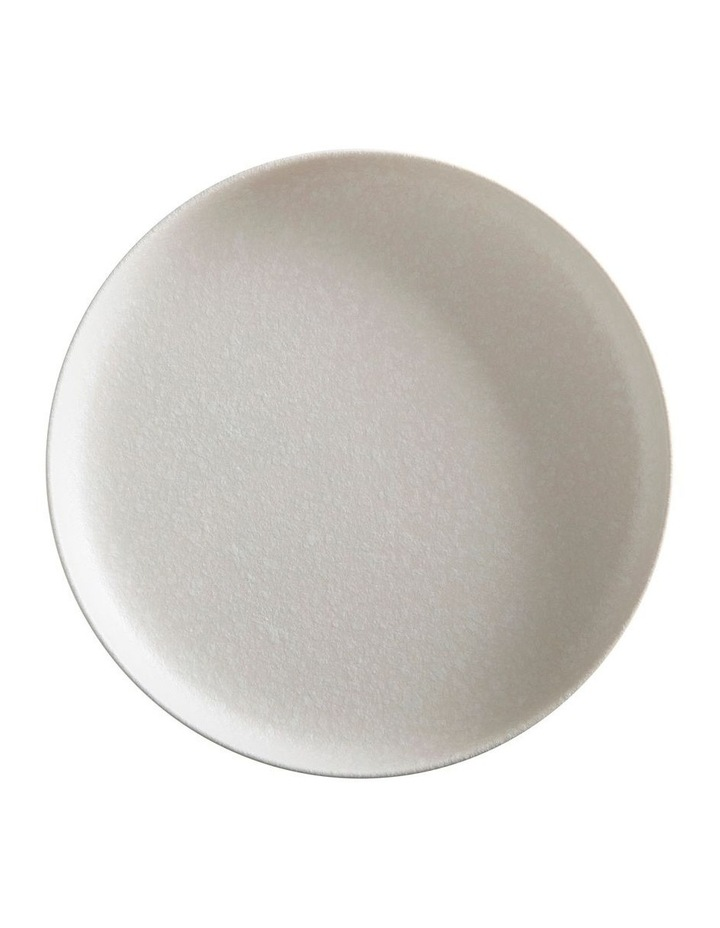 Caviar High Rim Platter 28cm White image 1
