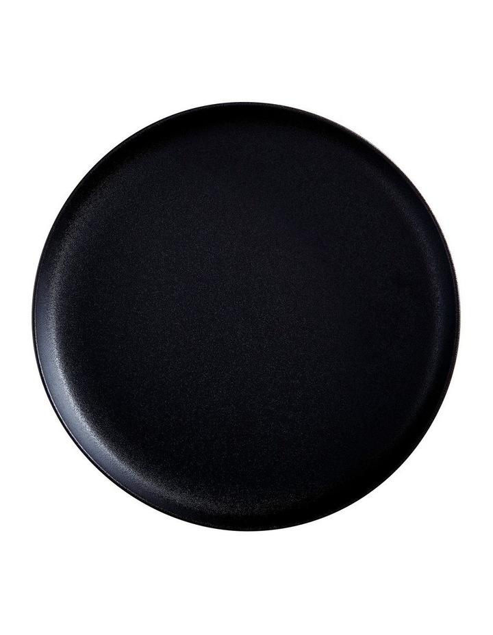 Caviar High Rim Platter 33cm Black image 1