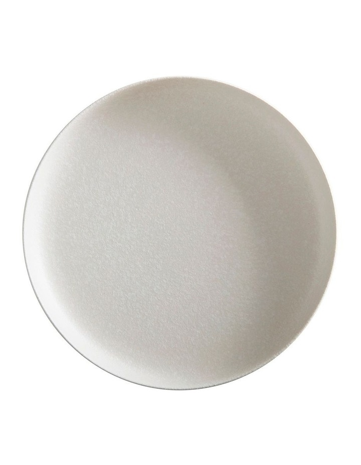 Caviar High Rim Platter 33cm White image 1
