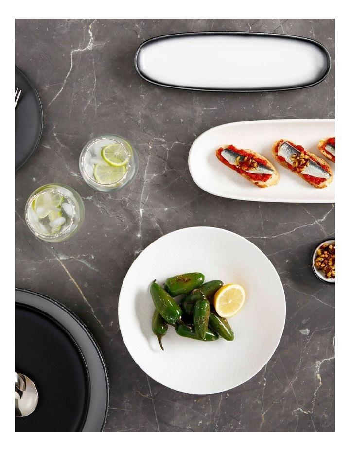 Caviar Oblong Platter 30x9cm Granite image 2