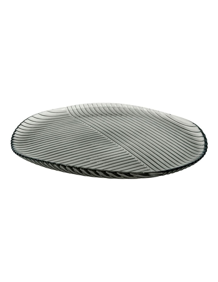 Lago Serving Plate - 33cm - Smoke image 1