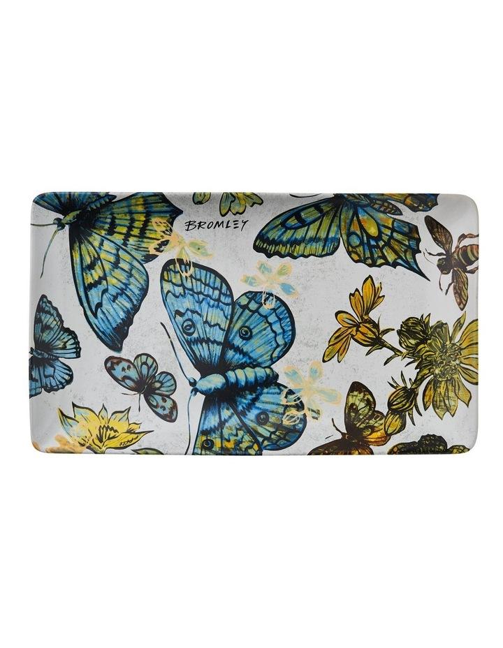 Bromley Rectangle Platter - Butterflies image 1