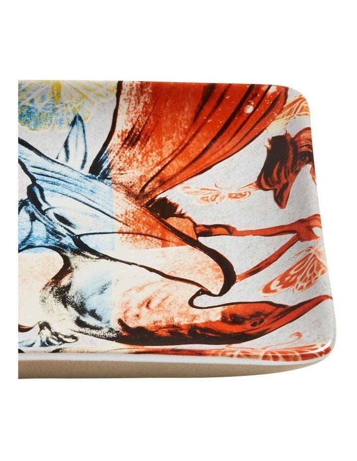 Bromley Rectangle Platter - Red & Blue Birds image 2