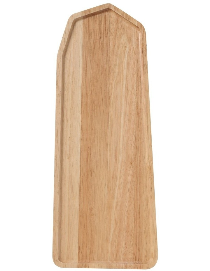 Wooden Serving Platter Rectangular Medium image 1