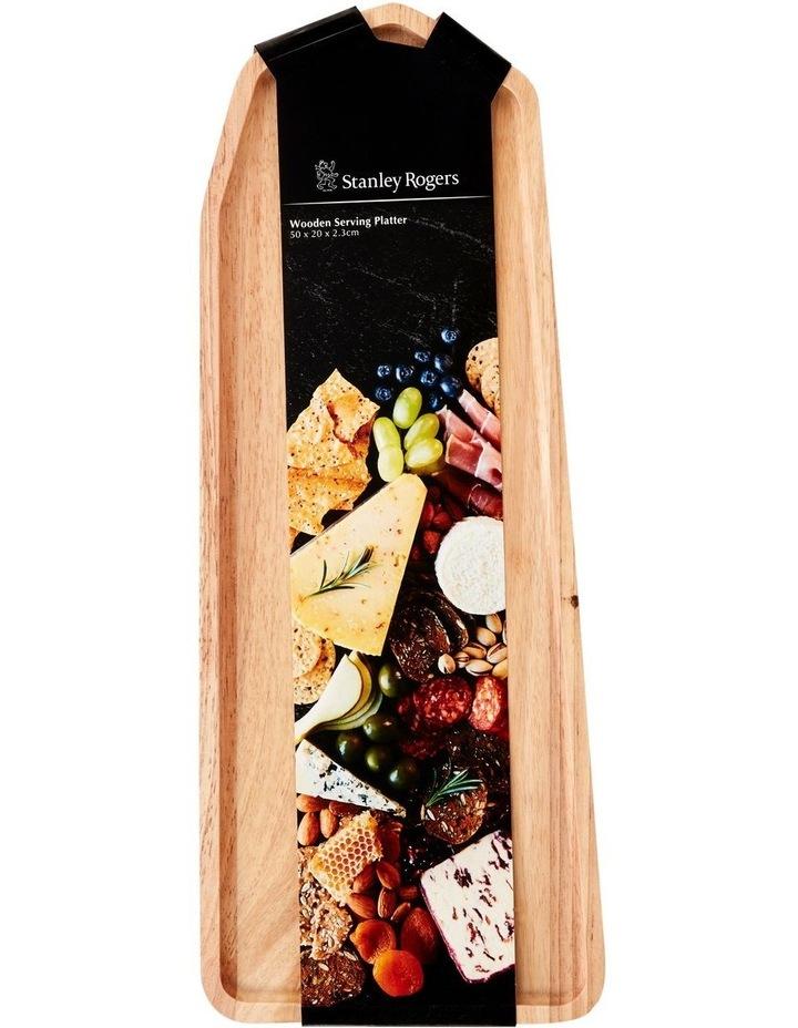 Wooden Serving Platter Rectangular Medium image 4