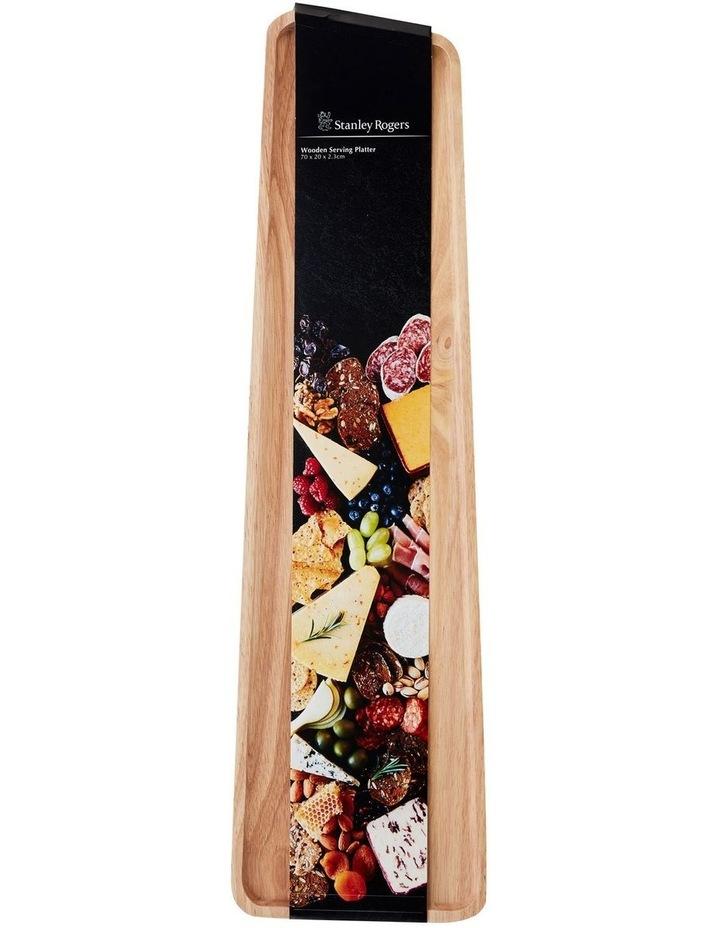 Wooden Serving Platter Rectangular Large image 4