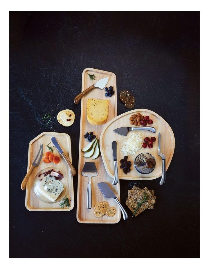 Wooden Serving Platter Round Large image 3