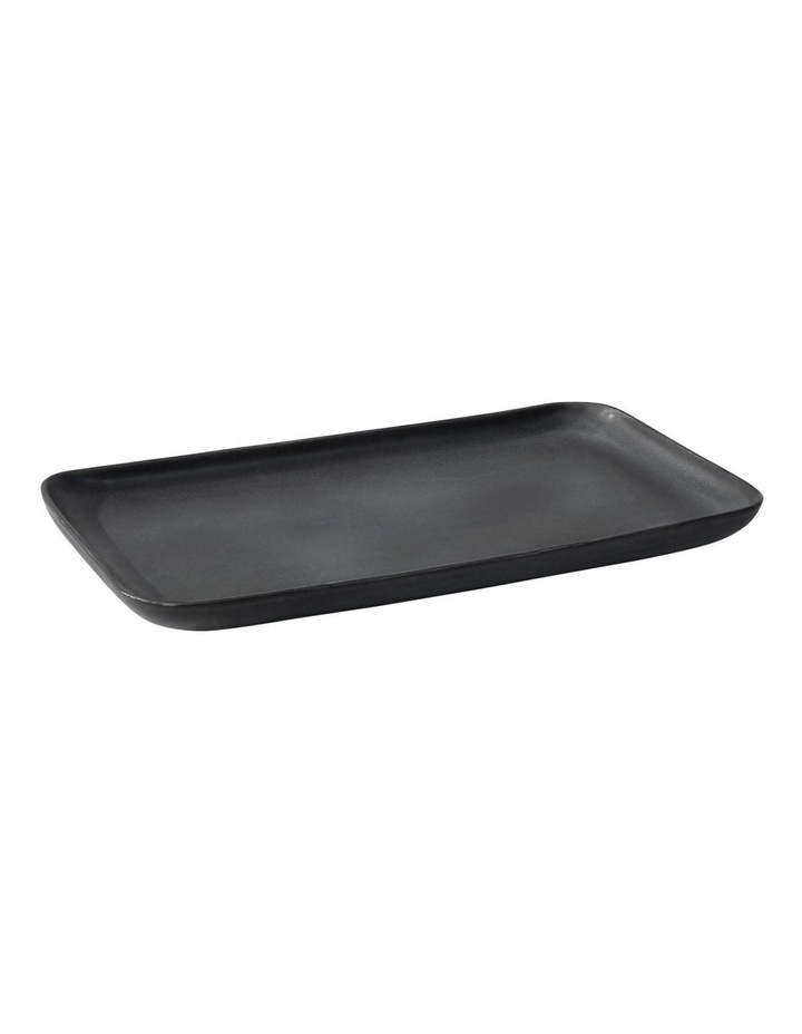 Major Serving Platter 30x22cm - Black image 1
