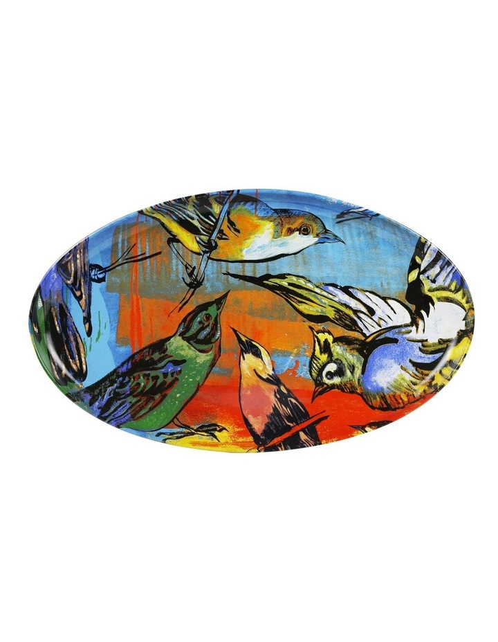 Bromley Oval Platter - 5 x Birds image 1