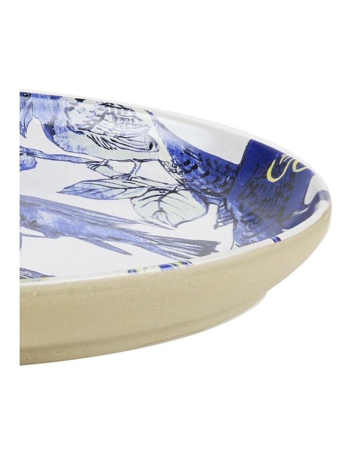 Bromley Oval Platter - Blue Birds image 2