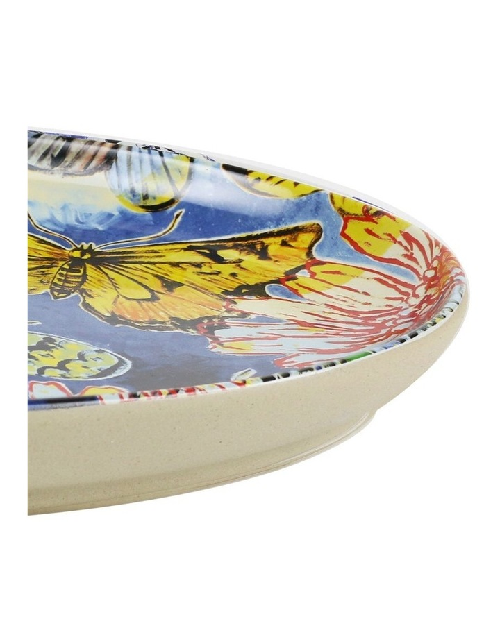 Bromley Oval Platter - Butterfiles Dip Painted 3 image 2