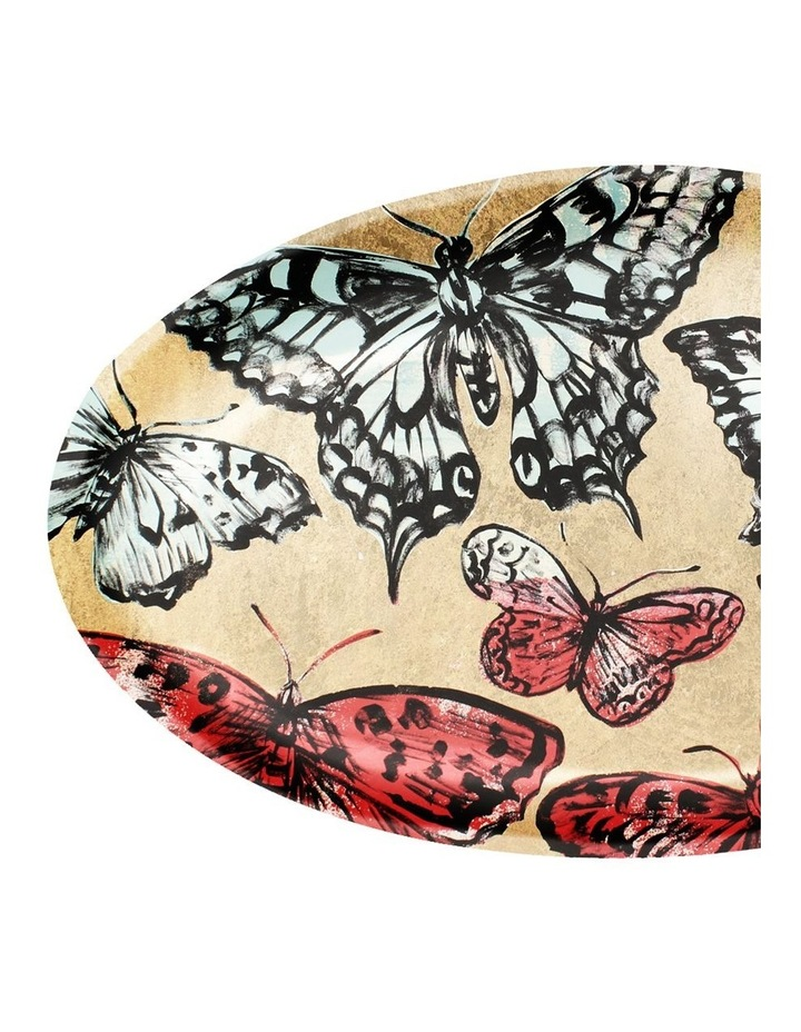 Robert Gordon X Bromley Platter Oval - Gold Butterflies image 2