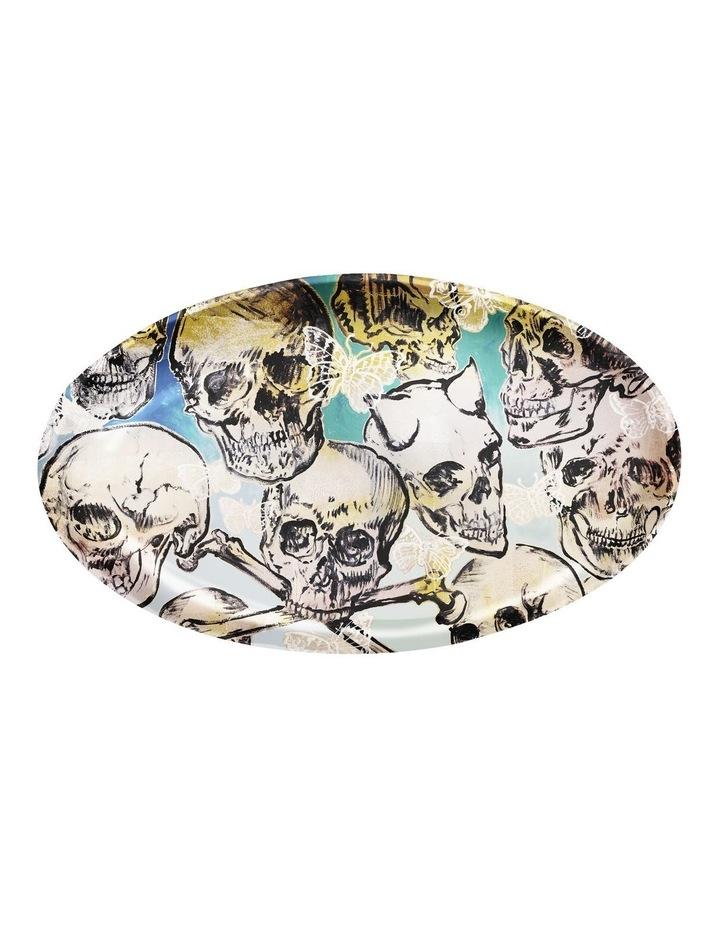 Robert Gordon X Bromley Platter Oval Big Skulls image 1