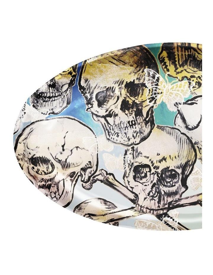 Robert Gordon X Bromley Platter Oval Big Skulls image 2