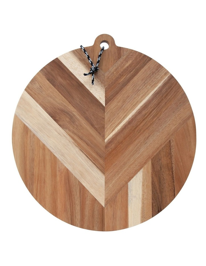 Raffia Serving Board - 40cm image 1