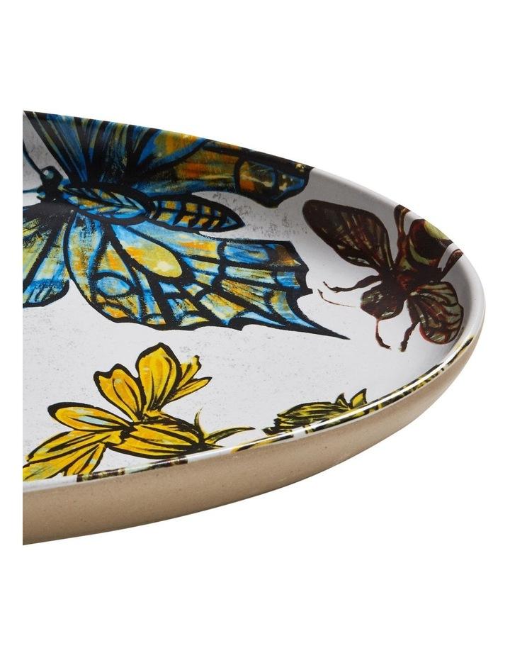 Bromley Oval Platter - Butterflies image 2