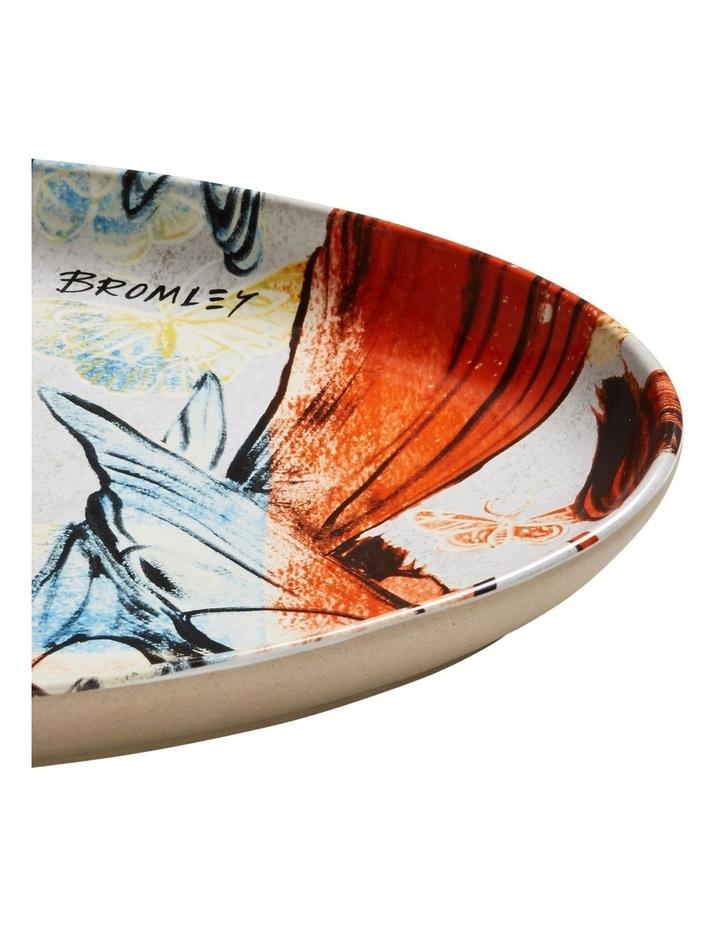 Bromley Oval Platter -  Red & Blue Birds image 2