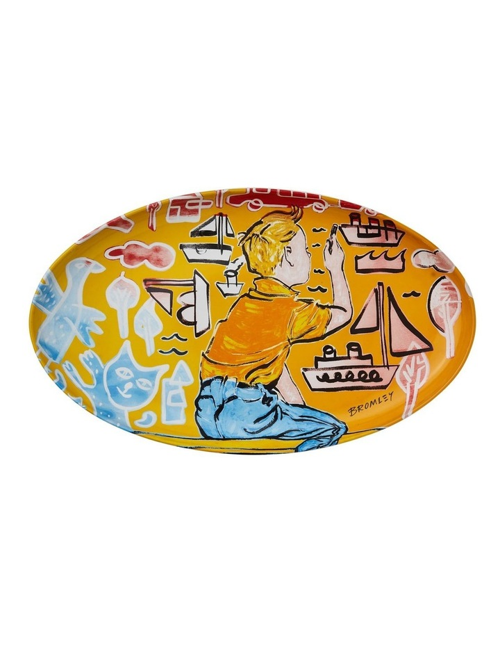 Bromley Oval Platter - Young Artist II image 1