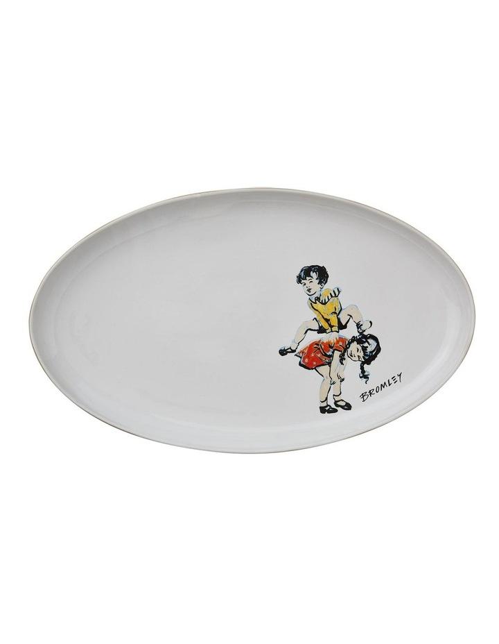 Bromley Oval Platter - Leapfrog image 1