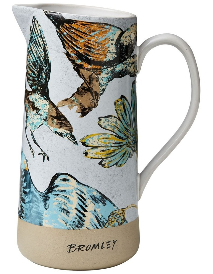 Bromley Large Jug with Handle - Ol Bird image 1