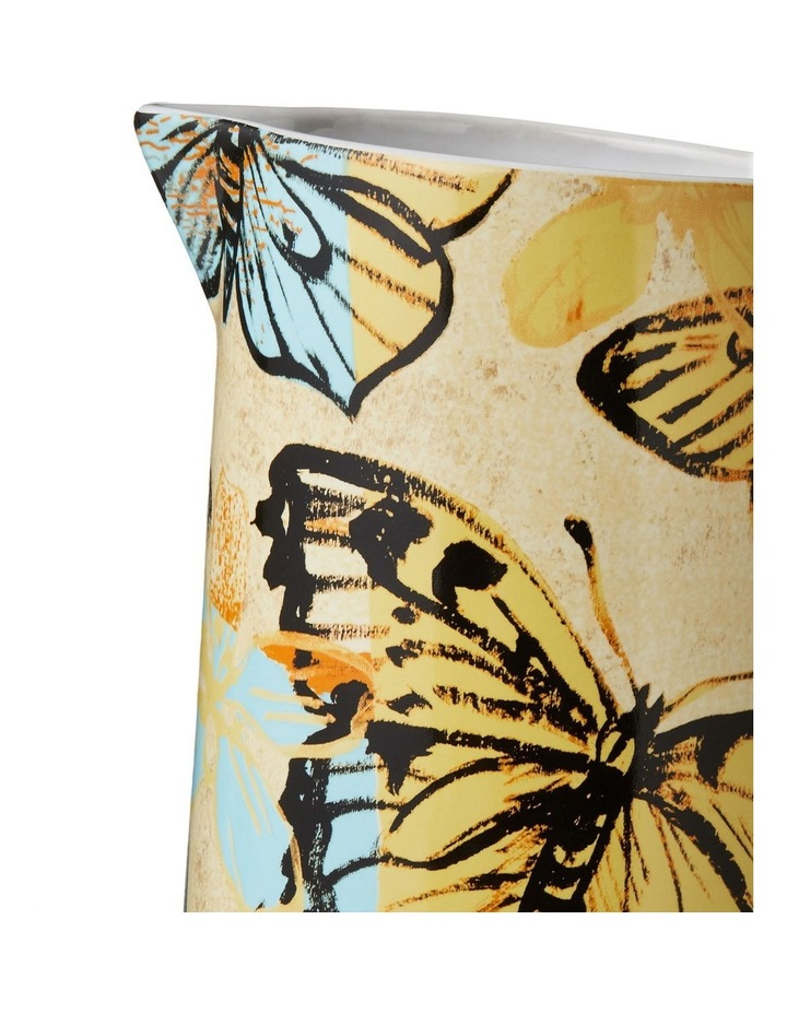 Bromley Large Jug with Handle - Yellow Butterflies image 2