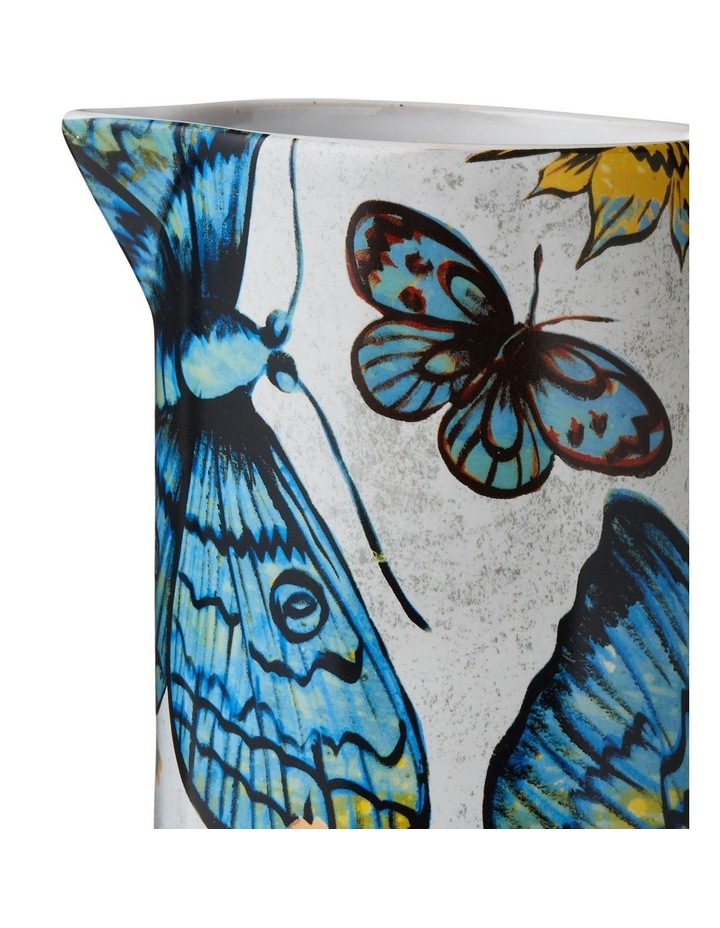 Bromley Large Jug with Handle - Butterflies image 2