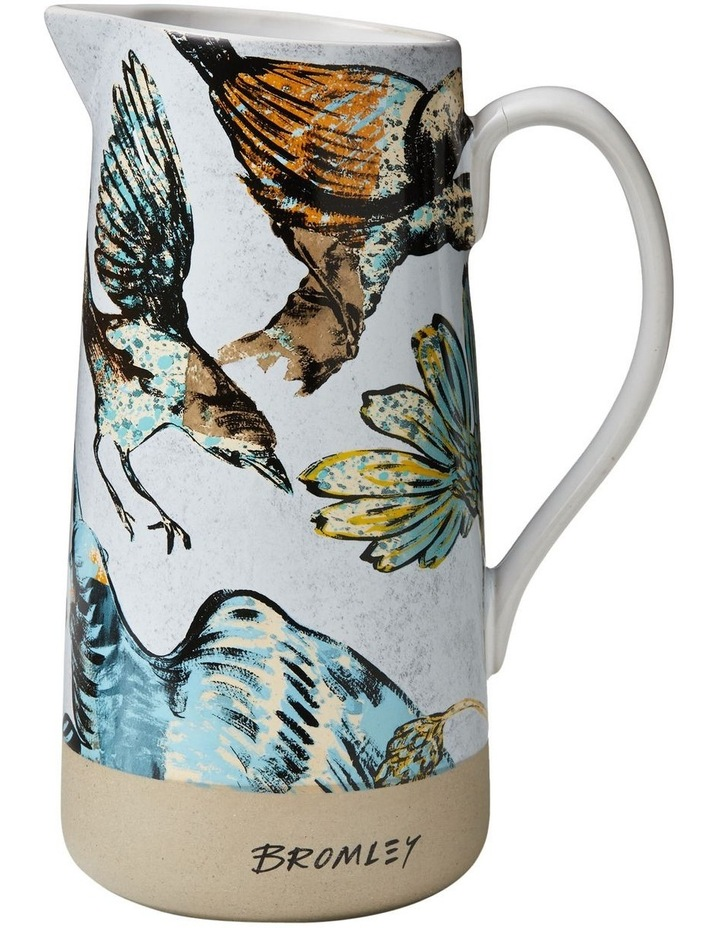 Bromley Med Jug with Handle - Ol Bird image 1