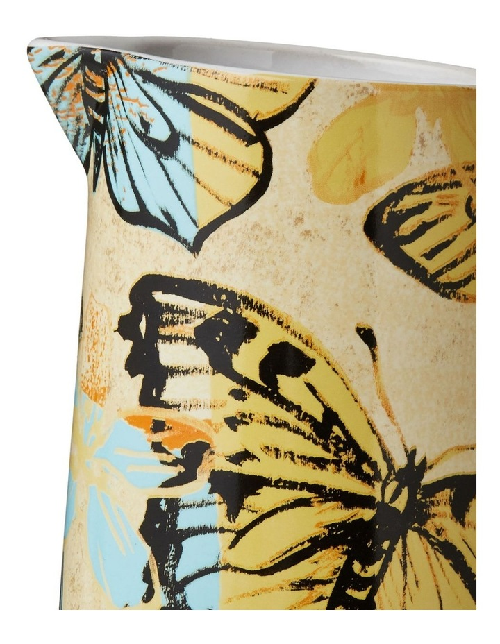 Bromley Med Jug with Handle - Yellow Butterflies image 2