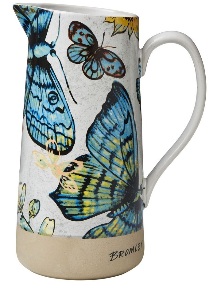 Bromley Med Jug with Handle - Butterflies image 1