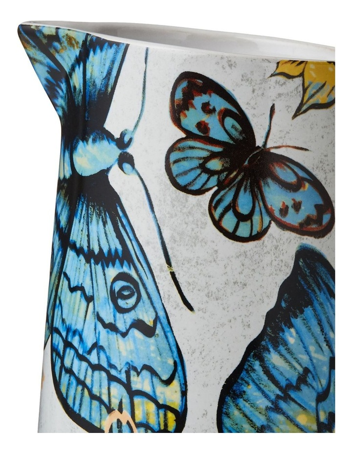 Bromley Med Jug with Handle - Butterflies image 2