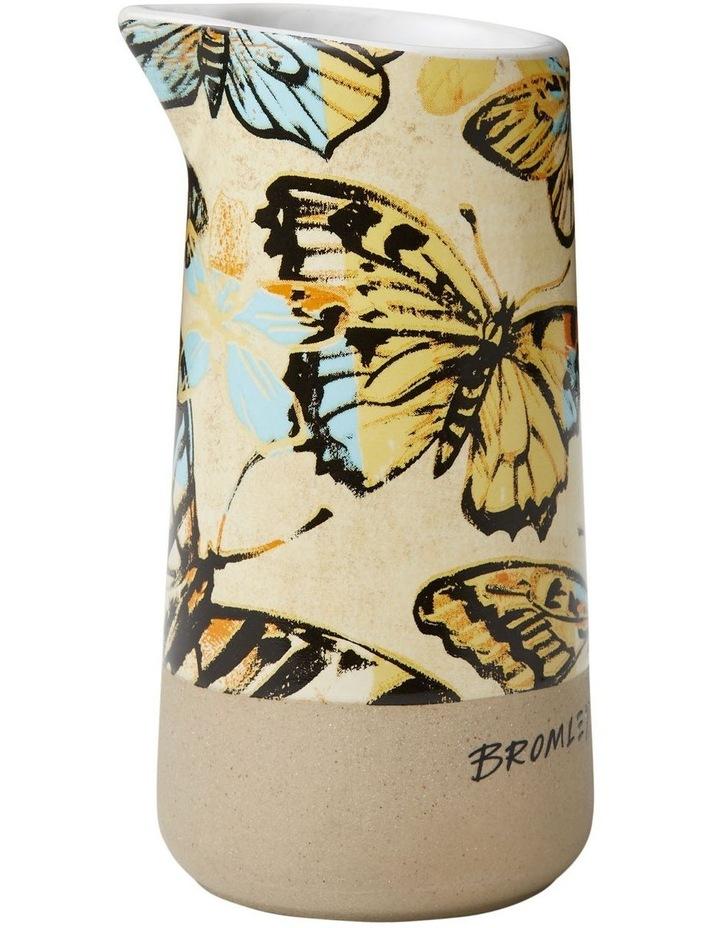 Bromley Small Jug no Handle - Yellow Butterflies image 1