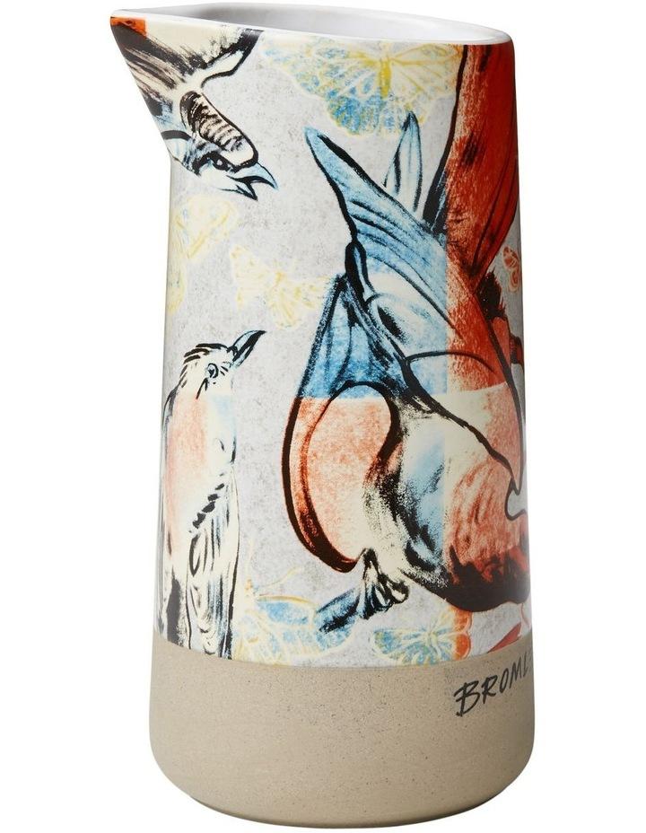 Bromley Mini Pourer No Handle - Red & Blue Birds image 1