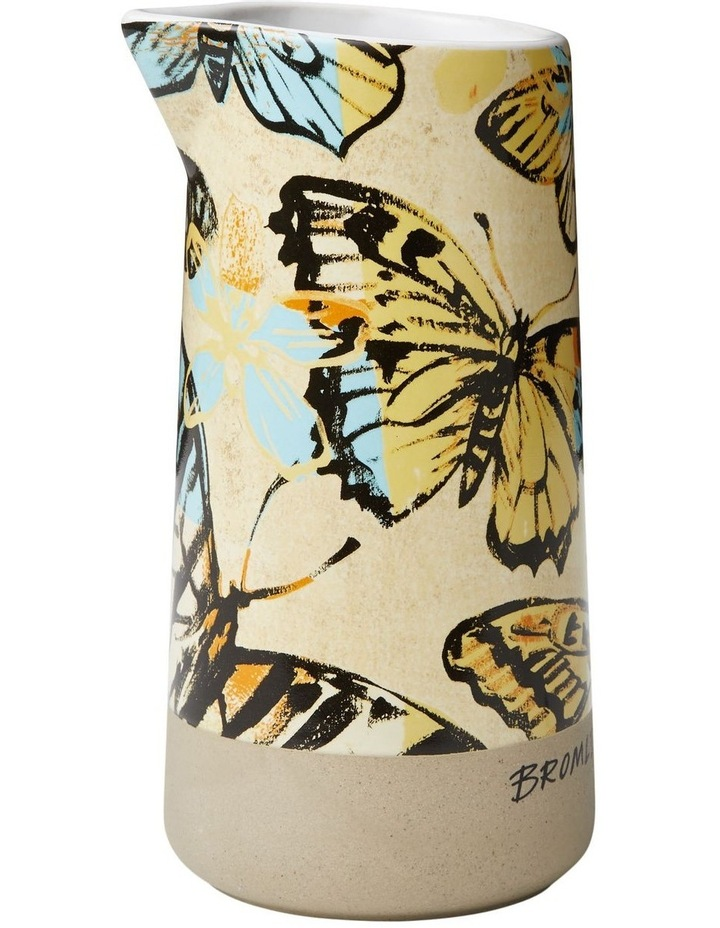 Bromley Mini Pourer No Handle - Yellow Butterflies image 1