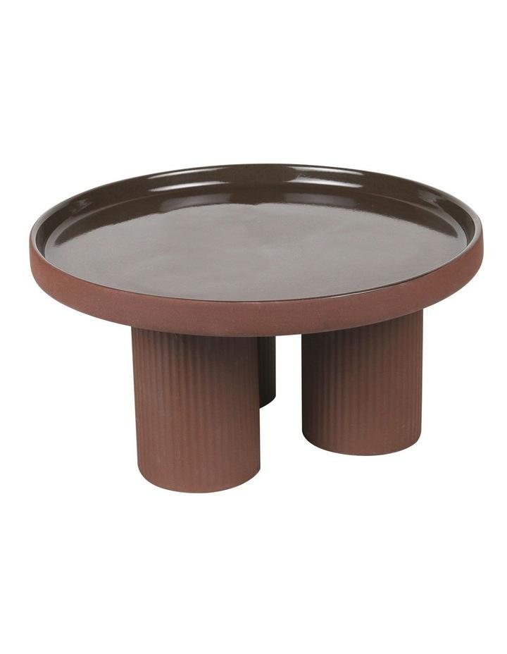 Poet's Dream Serving Range Cake Stand Chocolate 28x14cm image 2