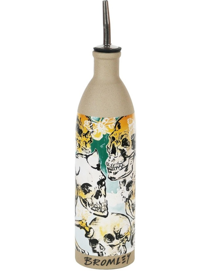 Robert Gordon X Bromley Oil Bottle - Big Skulls image 1
