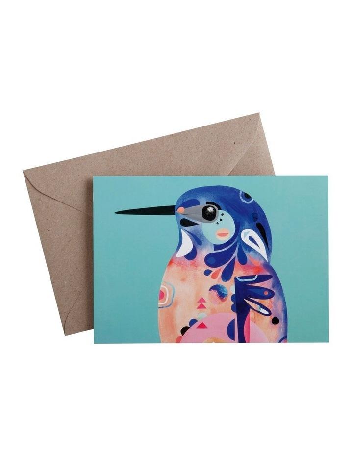 Pete Cromer Greeting Card Azure Kingfisher image 1