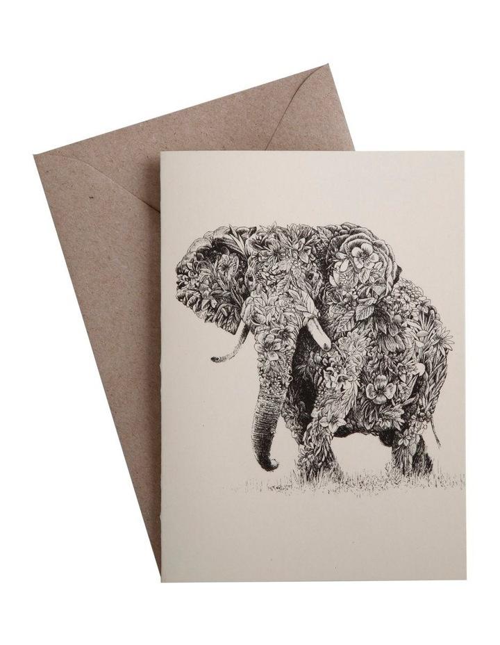 Marini Ferlazzo Greeting Card African Elephant image 1