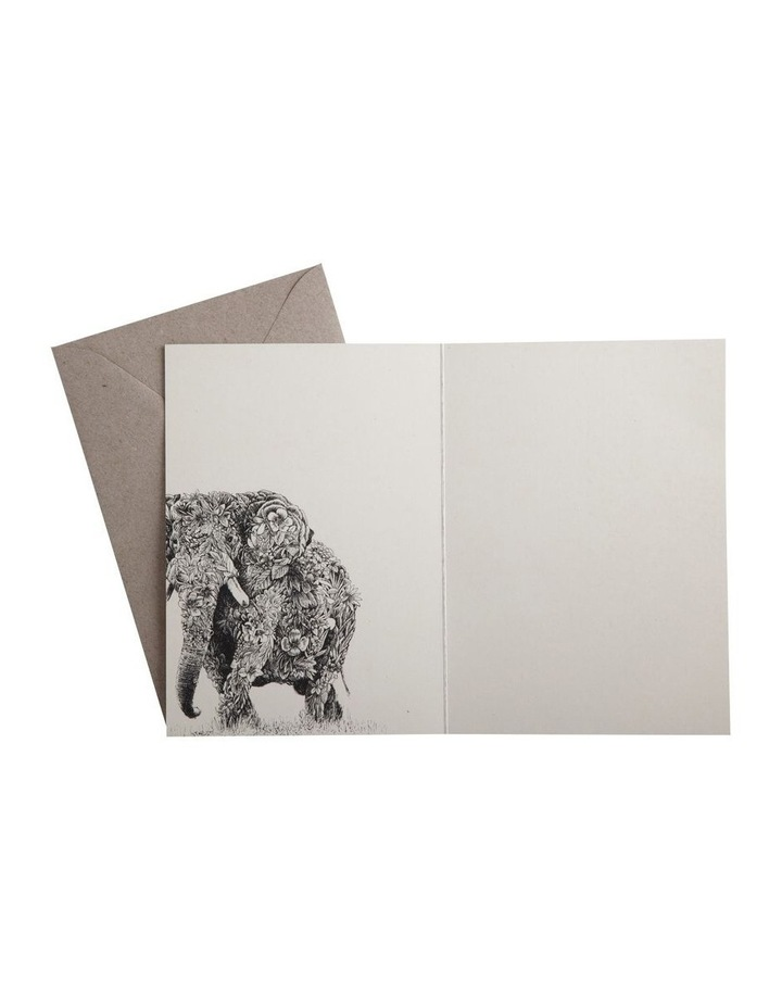Marini Ferlazzo Greeting Card African Elephant image 3