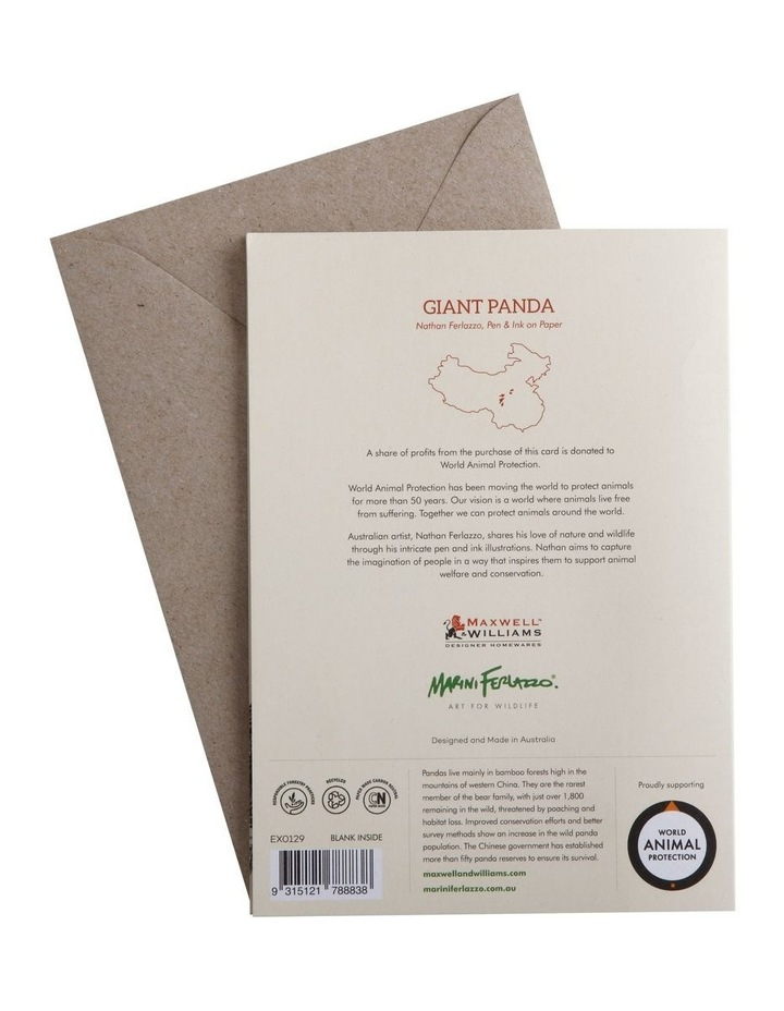 Marini Ferlazzo Greeting Card Giant Panda image 2