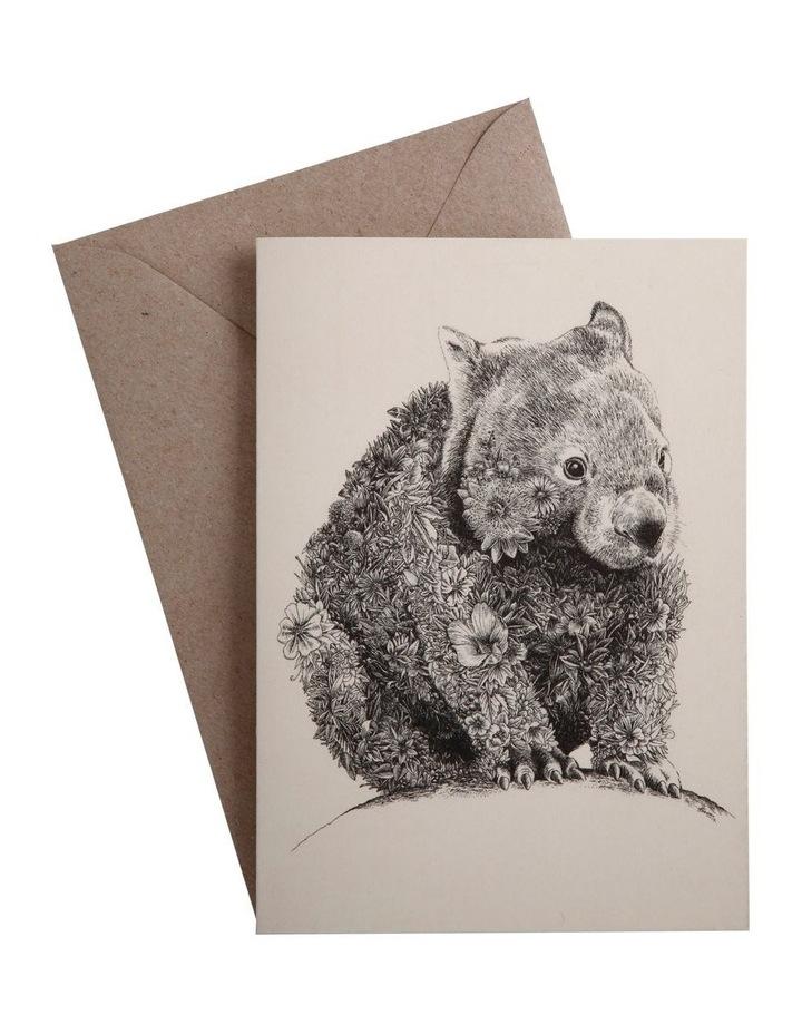 Marini Ferlazzo Greeting Card Wombat image 1