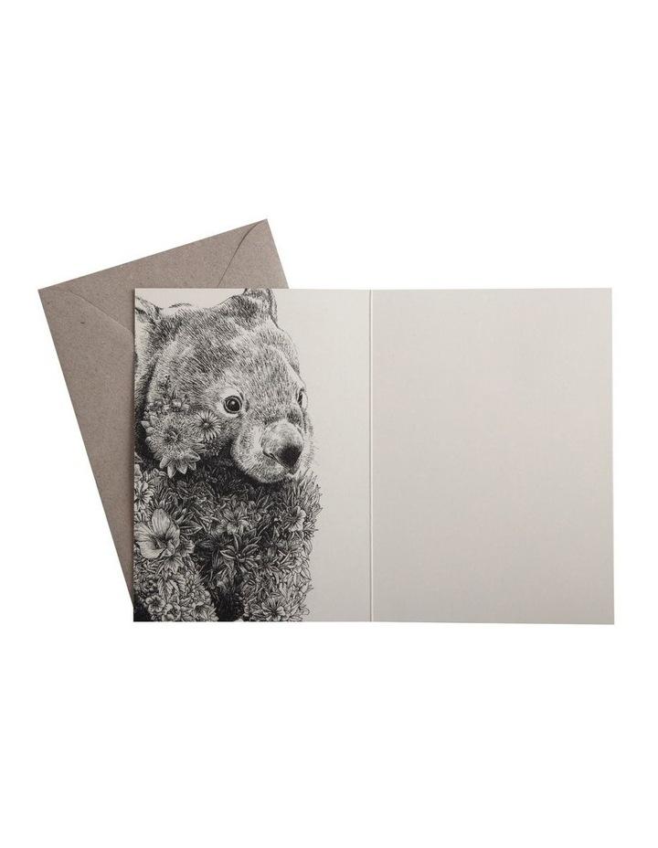 Marini Ferlazzo Greeting Card Wombat image 3
