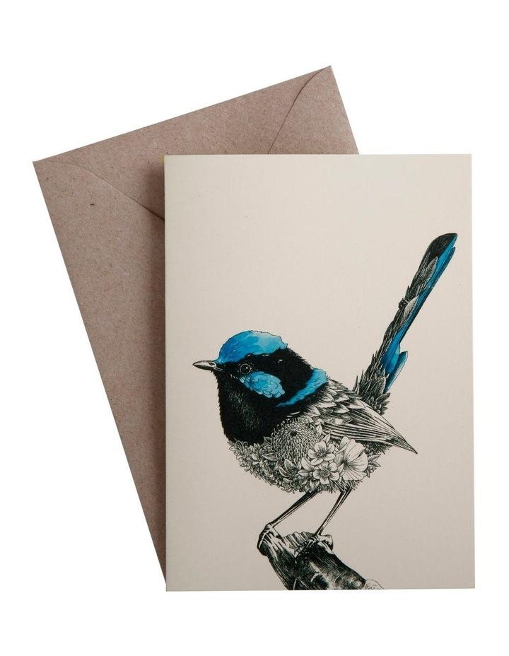 Marini Ferlazzo Birds Greeting Card Fairy Wren image 1