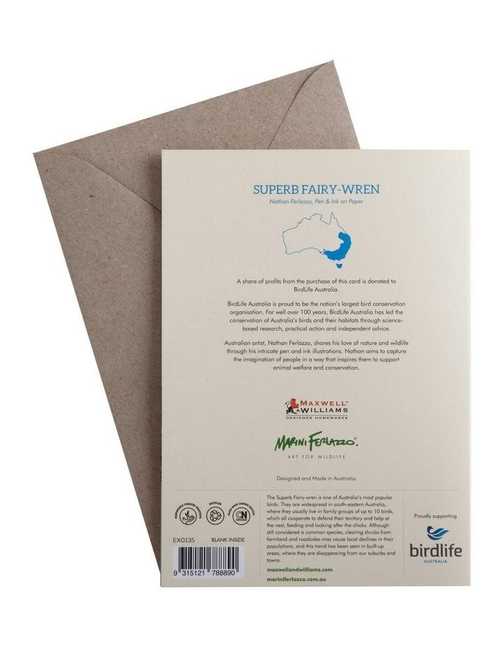 Marini Ferlazzo Birds Greeting Card Fairy Wren image 2
