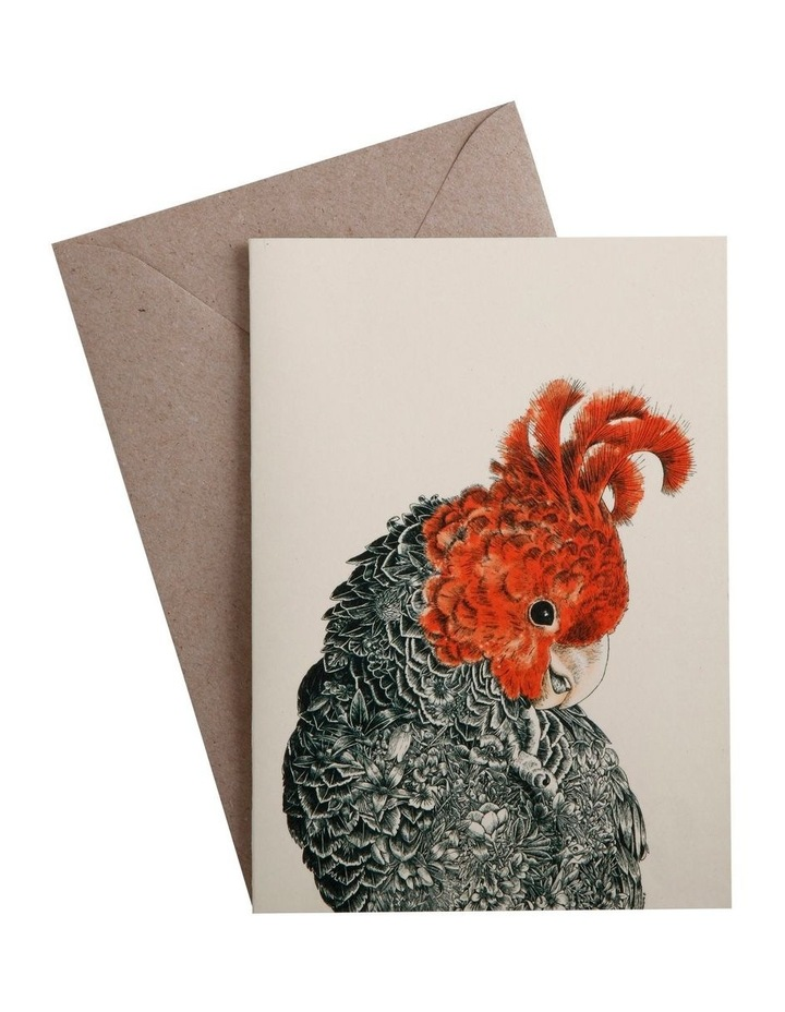 Marini Ferlazzo Birds Greeting Card Gang Gang image 1